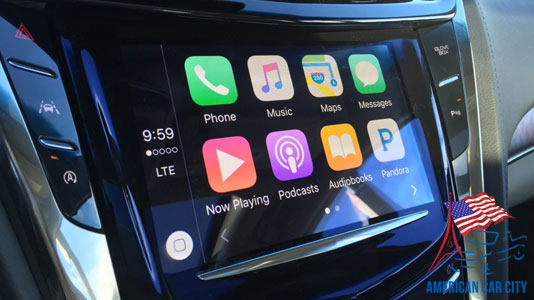 Apple Car Play cadillac escalade