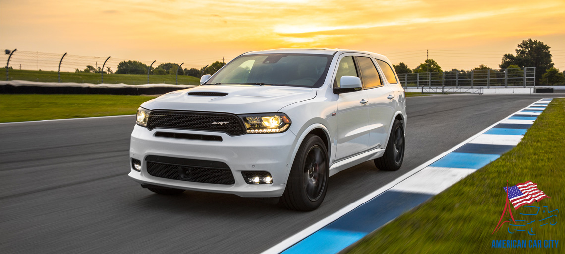 Dodge Durango SRT circuit
