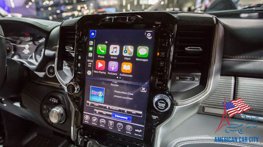 apple car play android auto dodge ram