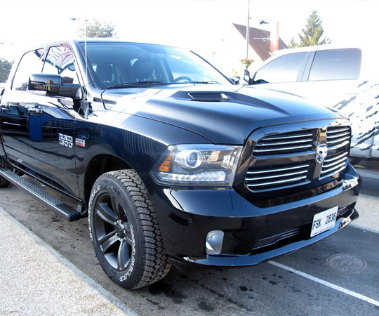 performance dodge ram black edition