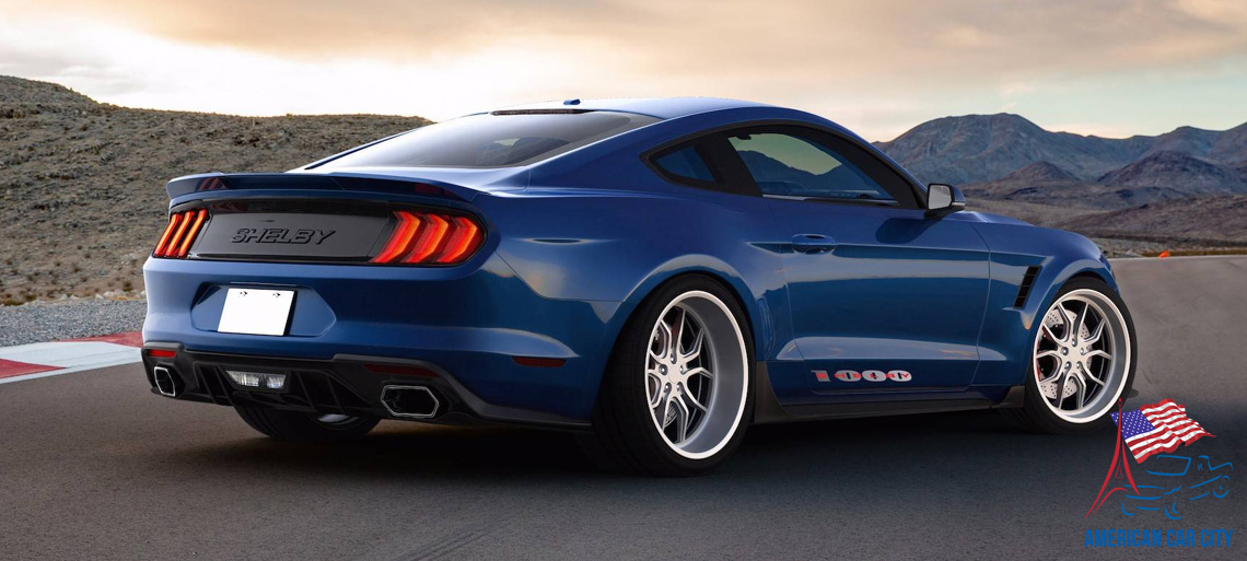 arriere ford shelby 1000
