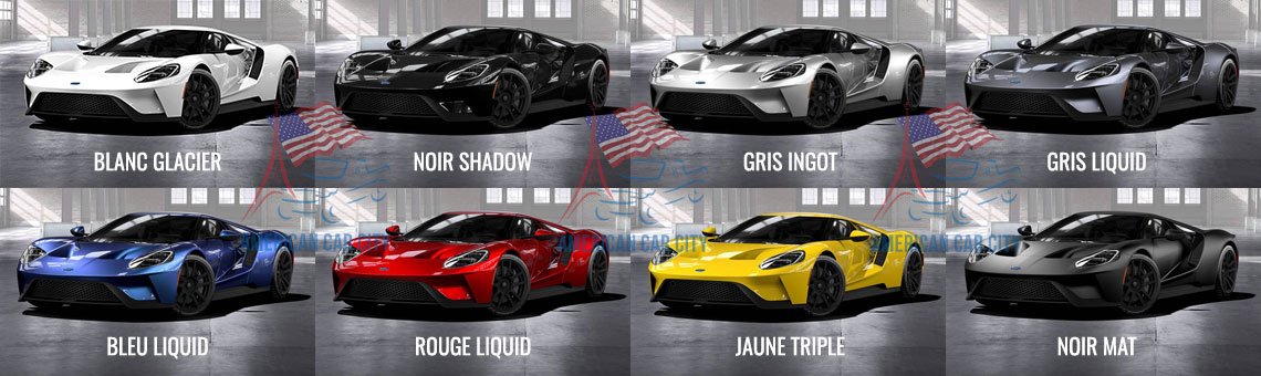 couleurs ford gt