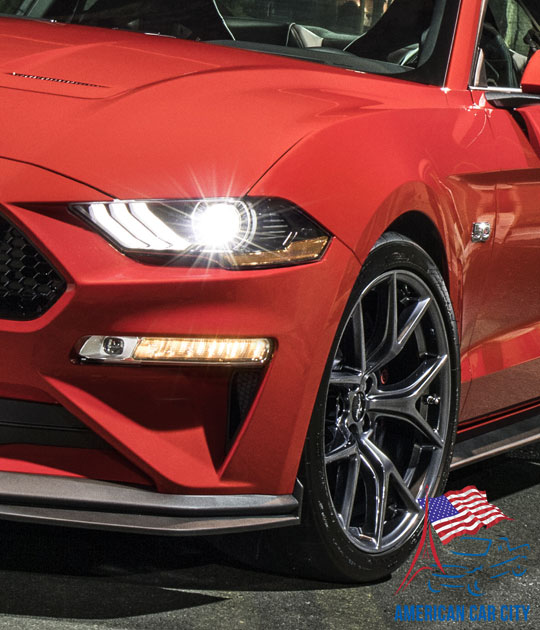 design Ford Mustang
