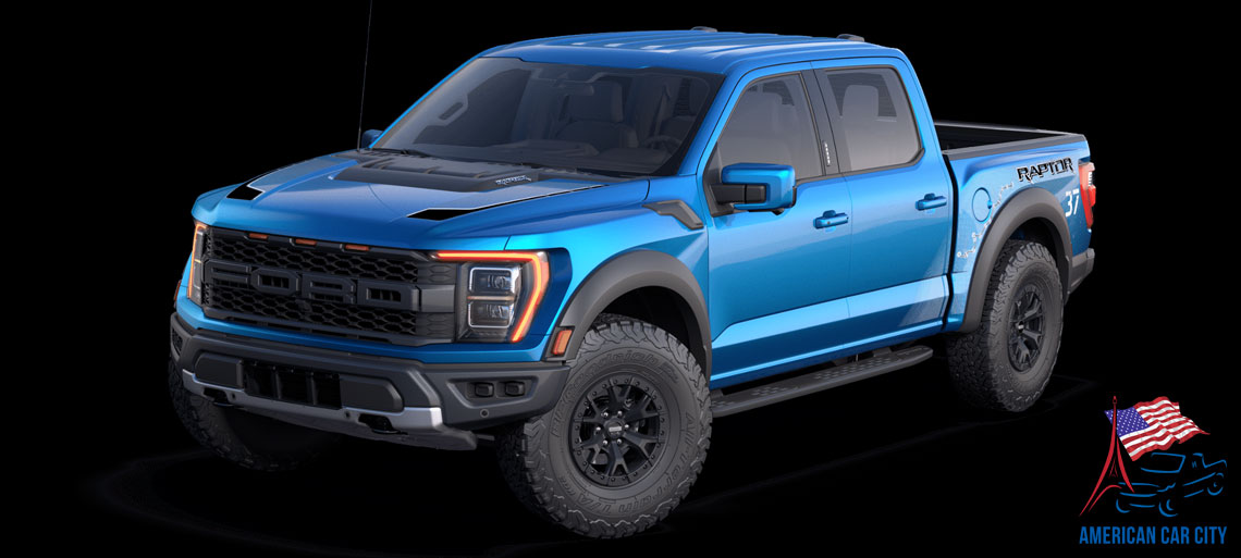 ford raptor bleu
