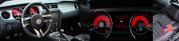 interieur ford mustang gt 2011