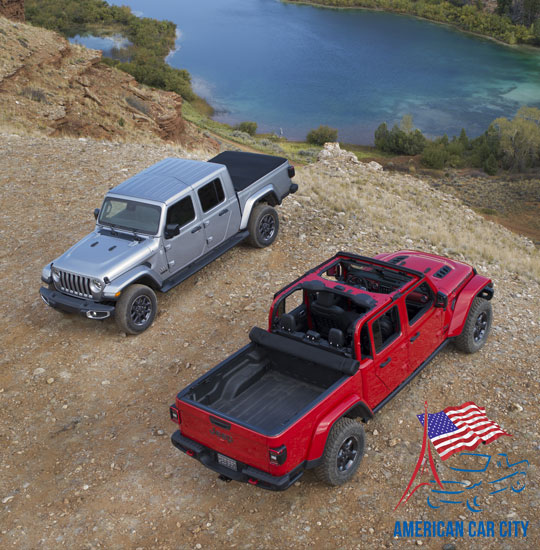 duo jeep gladiator