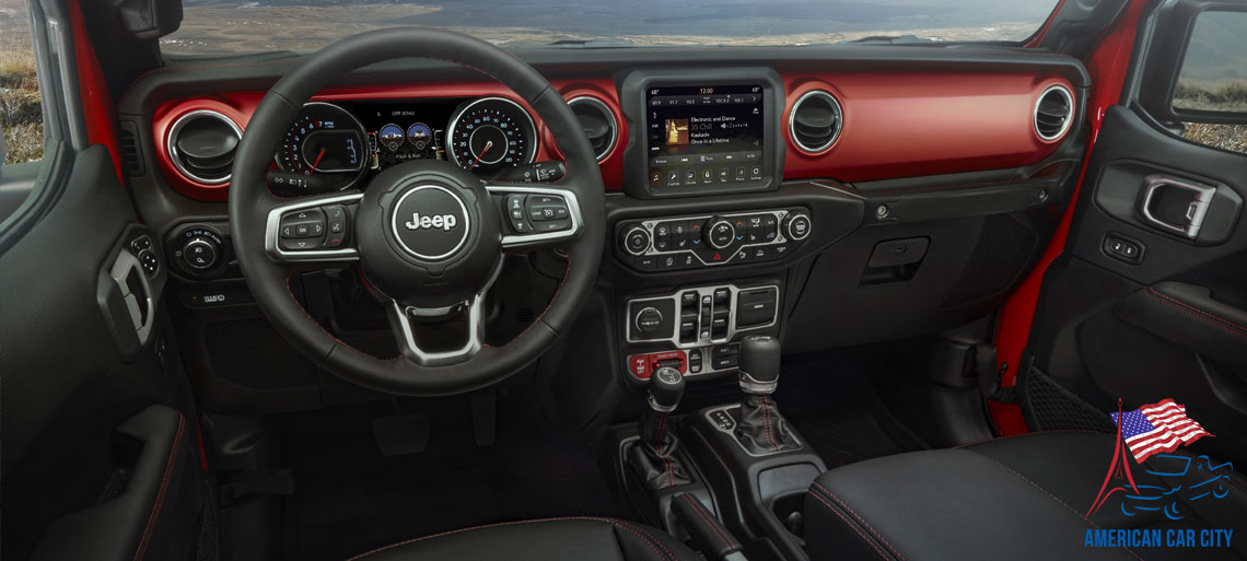 interieur jeep gladiator