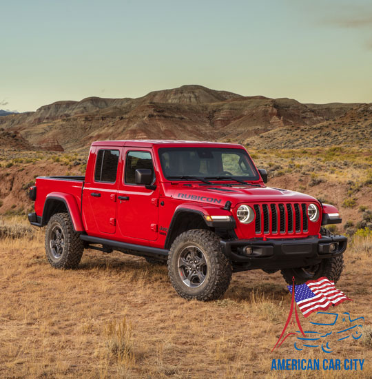 jeep gladiator rouge