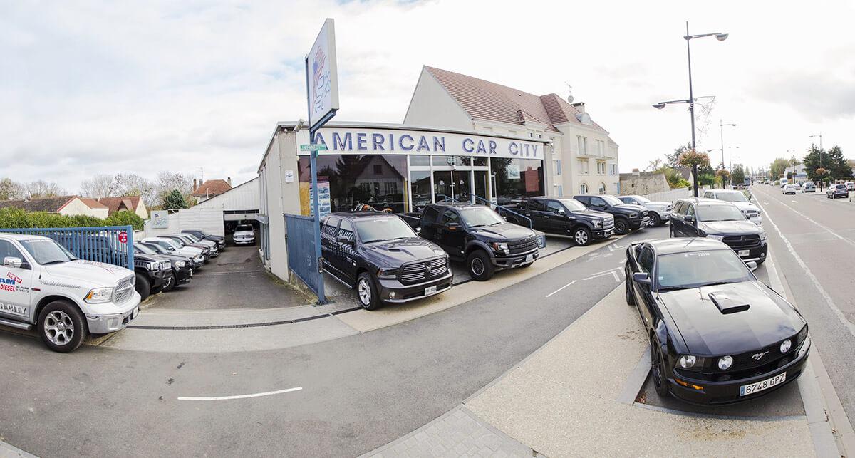 véhicules américains en stock