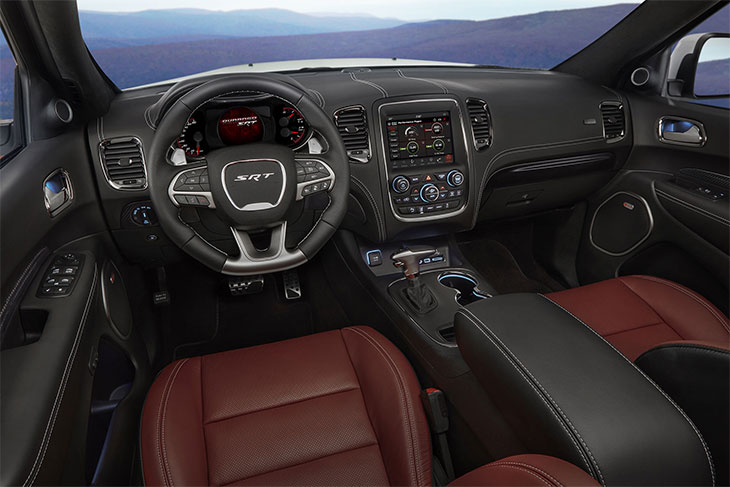 intérieur Dodge Durango SRT 2018