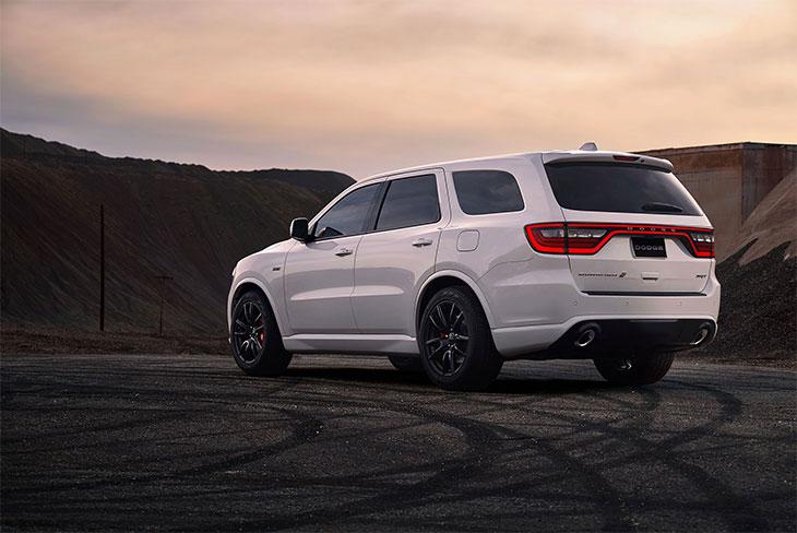 profil Dodge Durango SRT 2018