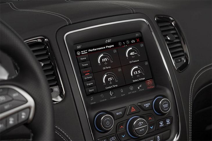 ordinateur de bord Dodge Durango SRT 2018