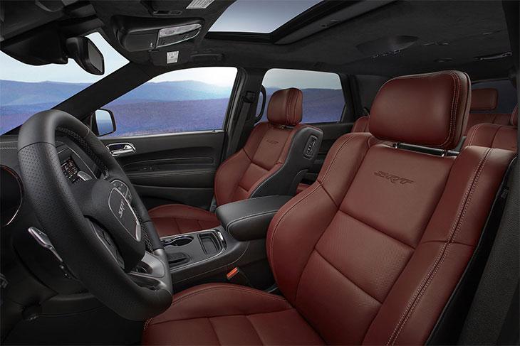 sièges Dodge Durango SRT 2018