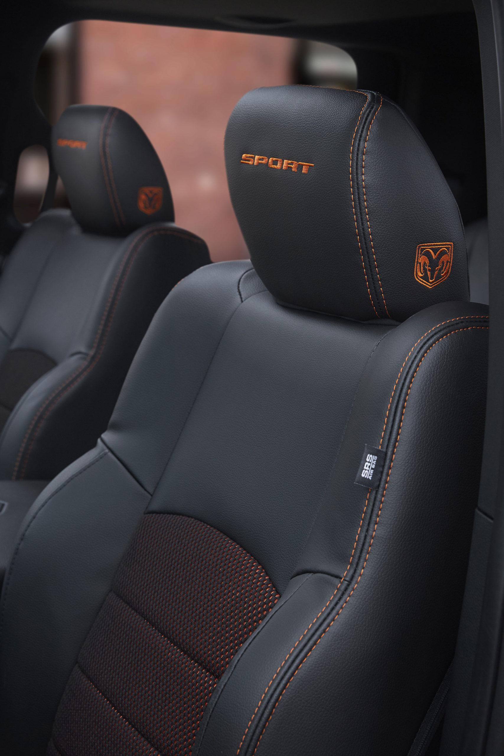 sièges ram copper edition