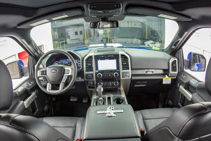 interieur ford f150 Shelby super snake 2017