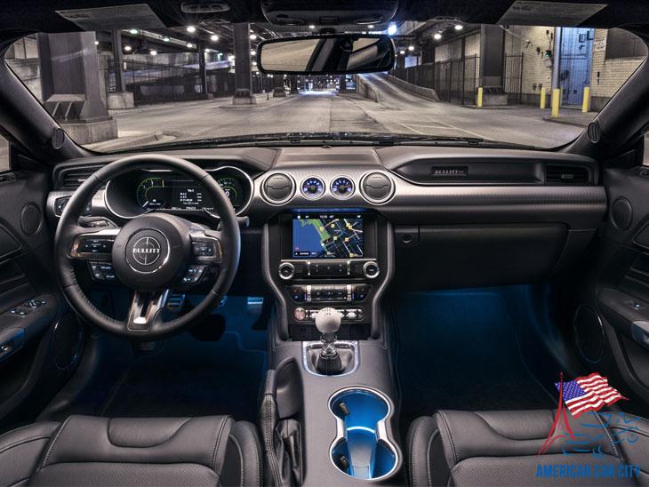 intérieur ford mustang bullitt