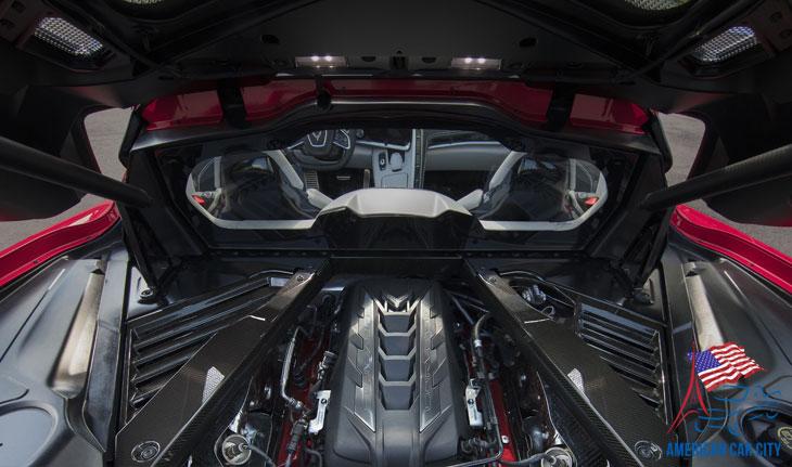 moteur V8 6,2L Corvette C8