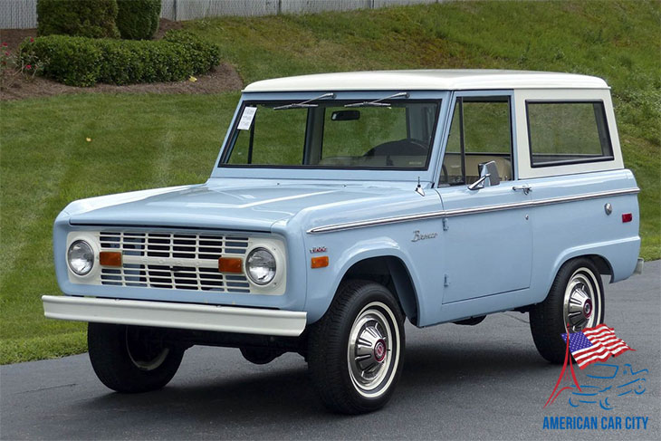 Ford bronco 1963