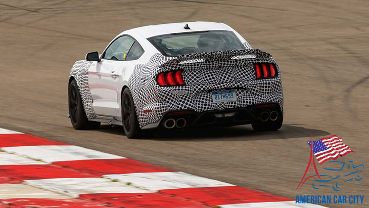 Arrière ford mustang 2021