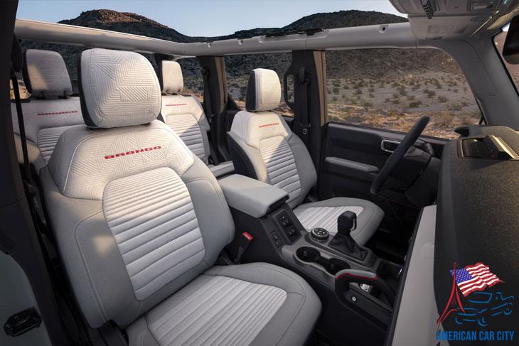 intérieur Ford Bronco 2021