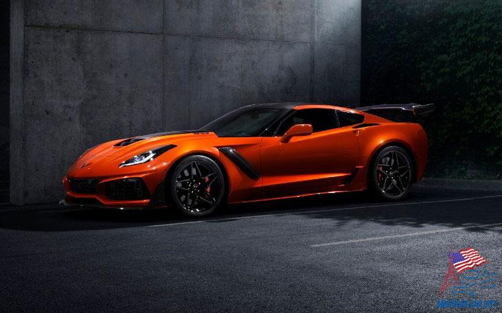 corvette zr1 2019 orange