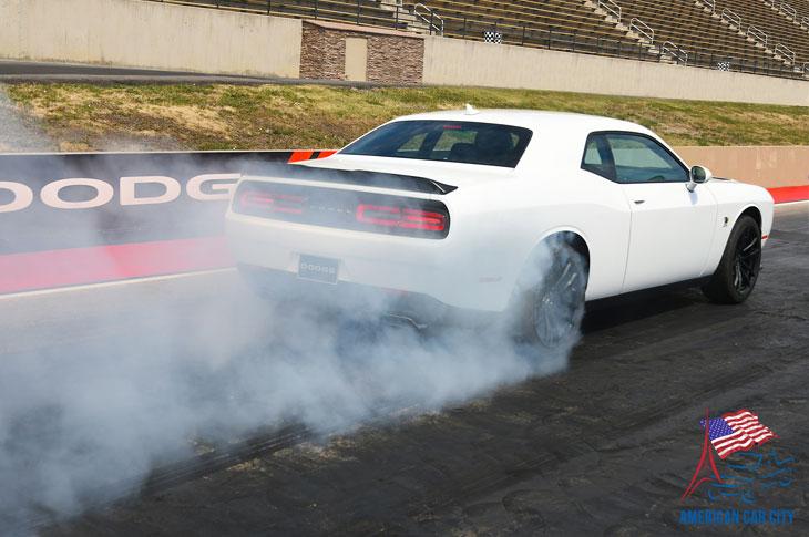 dodge challenger r/t scat pack drag 1320 2019
