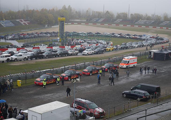 dodge ram sur le Nurburgring