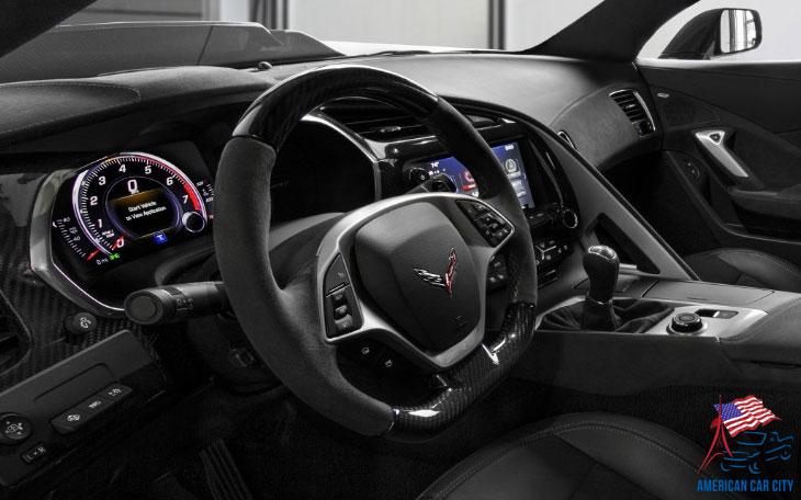 intérieur chevrolet corvette zr1 2019