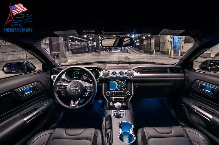 intérieur ford mustang bullitt 2019