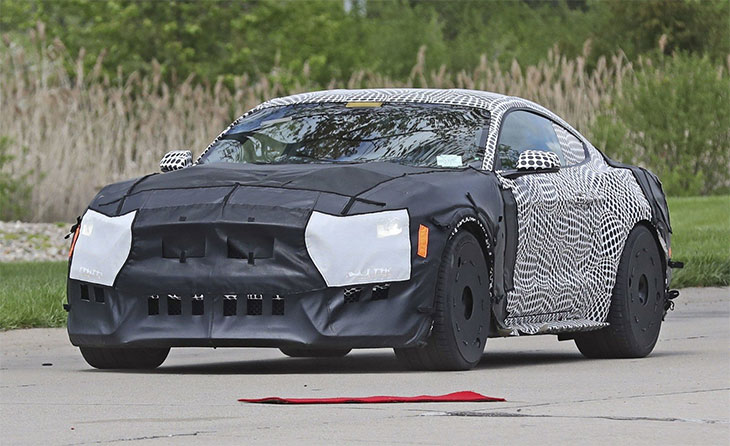 photo espion shelby mustang gt500 2019