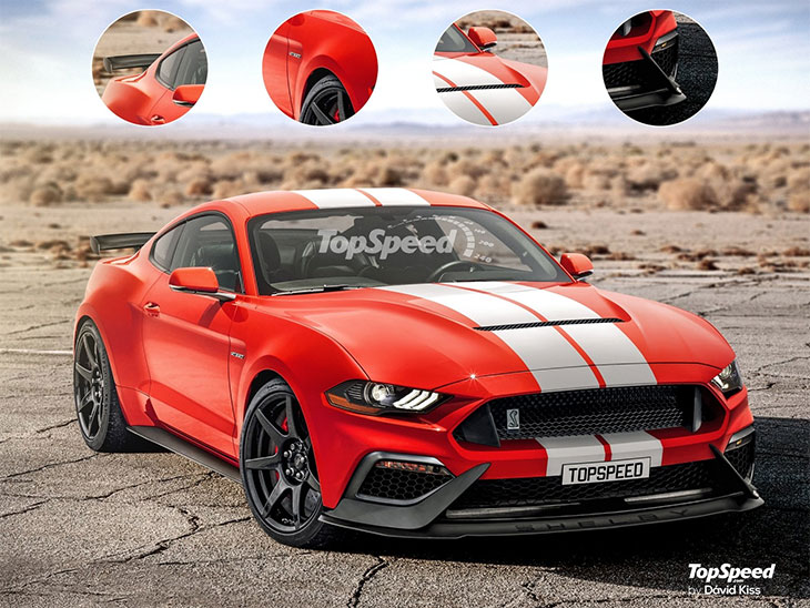 shelby gt500 2019 projection