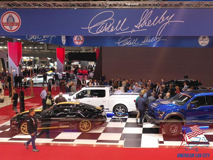 stand Shelby Mondial de l'automobile 2018
