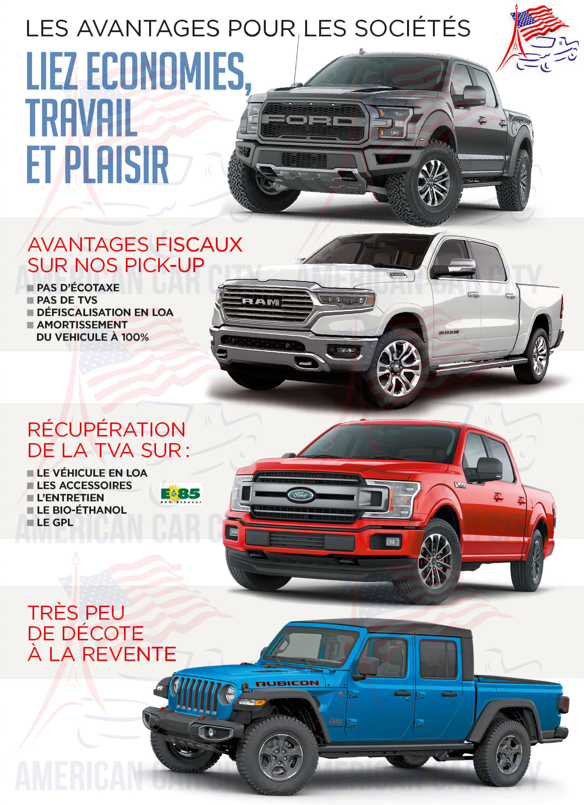 avantages-societes-pickups-americains